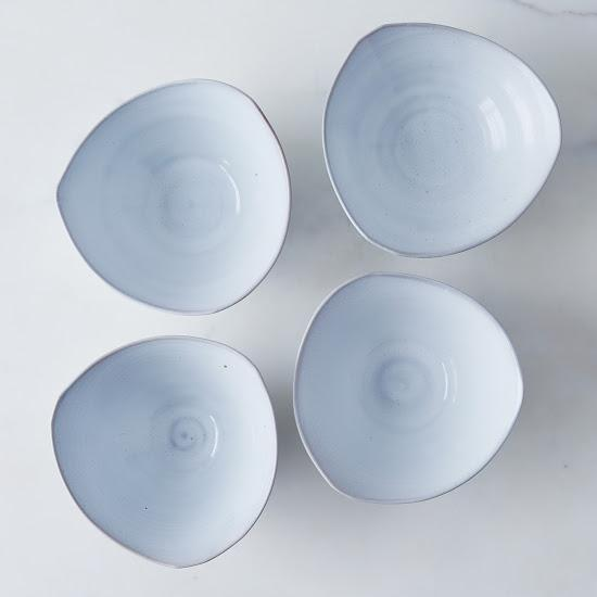 Moonstar Ceramics Triangle Bowls