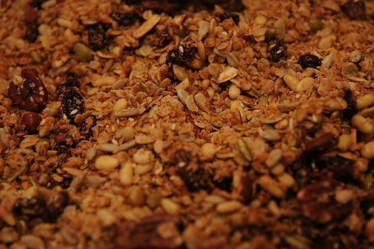 Travis Post's Brown Rice and Granola Power Breakfast