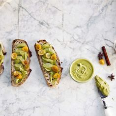 Pitaschio Butter & Candied Kumquat Toast