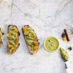 Pitaschio Butter & Candied Kumquat Toast