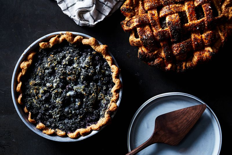 These dreamy pies are hiding a couple secrets.