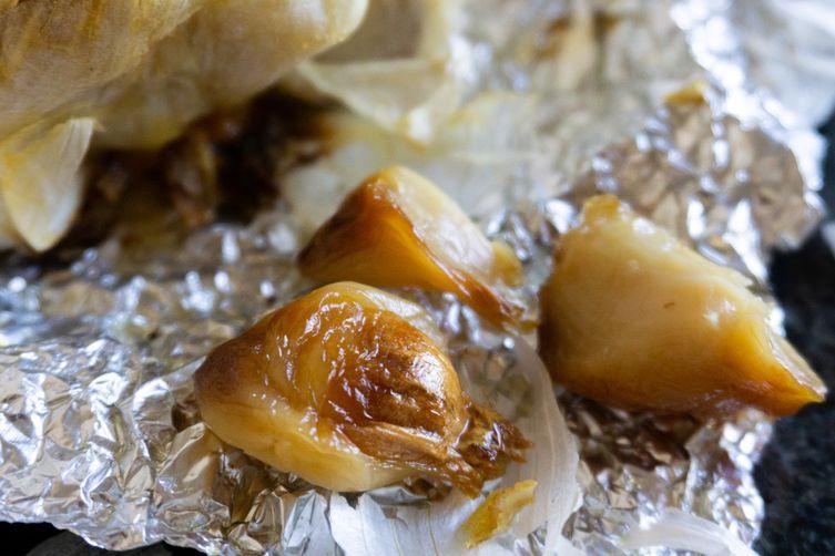 Caramelized Roasted Garlic and Storage Methods