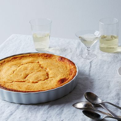 Grapefruit Pudding Cake That's Bitter in the Best Way Possible