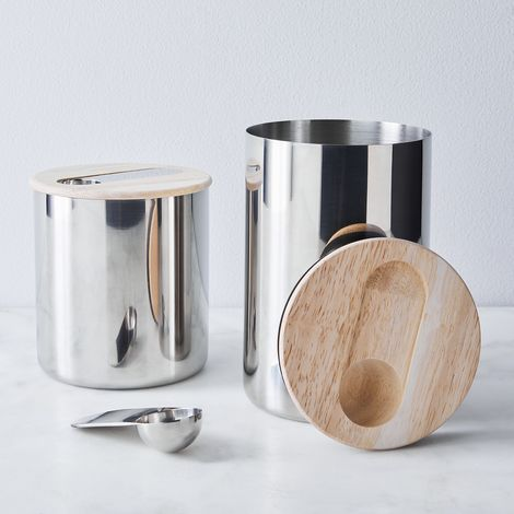 Stelton Scoop Coffee and Tea Canister