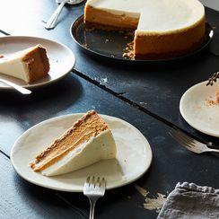 Butternut Squash & Spice Cheesecake