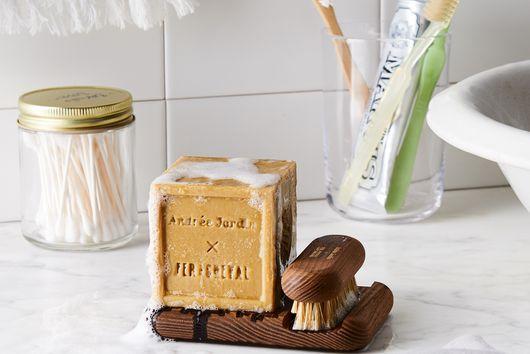 Andrée Jardin x Fer à Cheval Marseille Soap Stand & Brush
