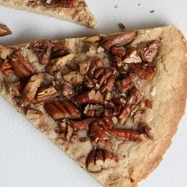 Sweet and Salty Toasted Pecan Shortbread