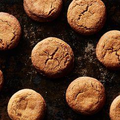 Rose Levy Beranbaum's Molasses Sugar Butter Cookies
