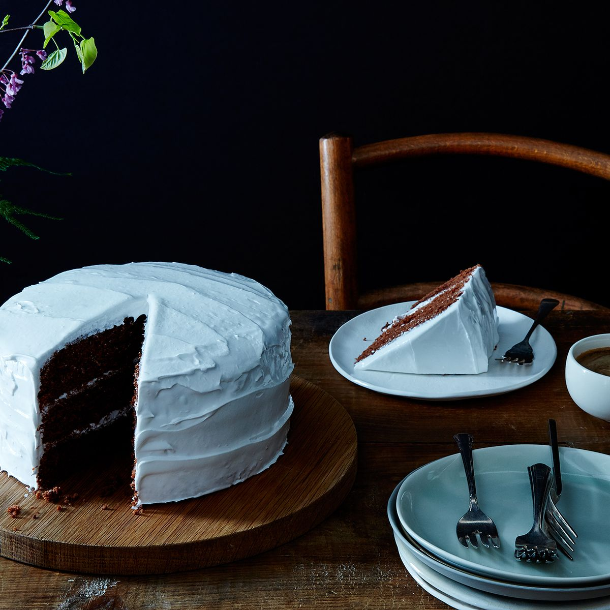 """Devil\'s Food Cake with """"Piquant"""" Boiled Icing, Late 19th Century ..."""