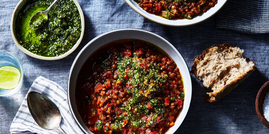 And *in* everything, too—like this smoky lentil soup