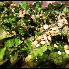 Edible Jewels Kale Salad