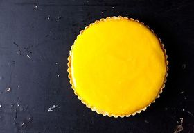 Lemon Tart with Olive Oil