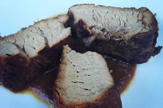 Slow Cooker Pork Tenderloin with Figs
