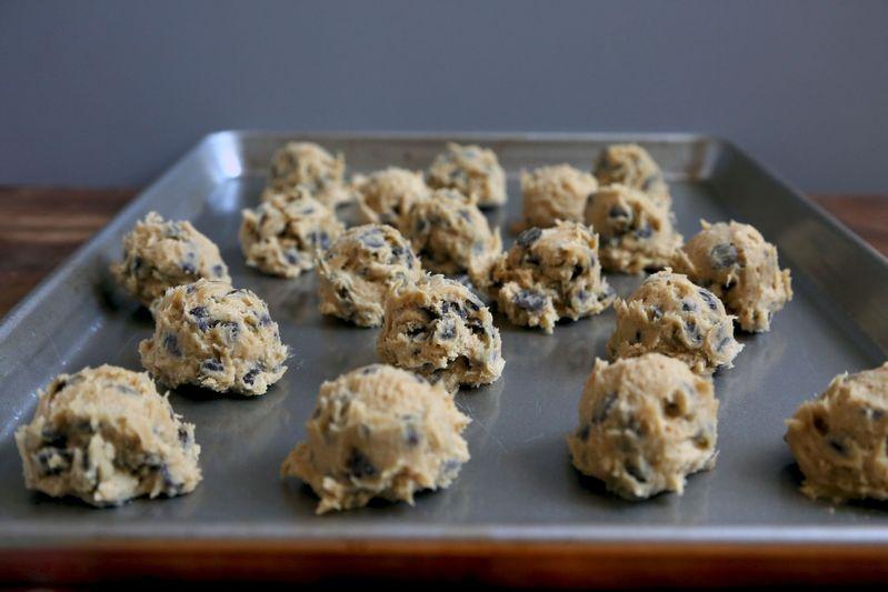 Nestle cookies, pre-oven.