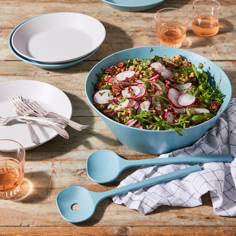 Pebble Melamine Plates Amp Salad Set On Food52