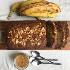 Peanut Butter Chocolate Chip Banana Bread