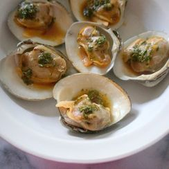 Thai Style Grilled Clams