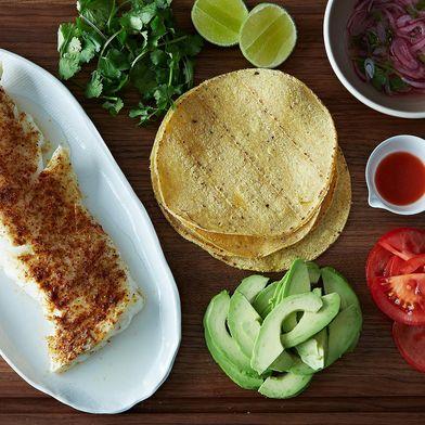 Low-Maintenance Fish Tacos