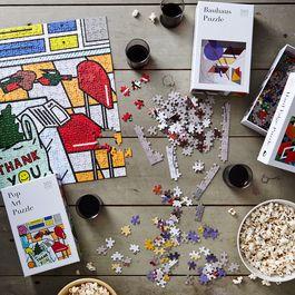 Modern Art 500-Piece Puzzles (Set of 2)