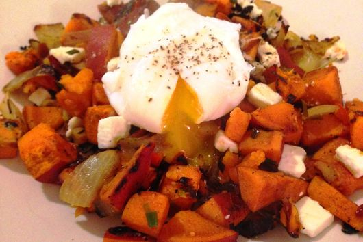 Sweet Potato Hash (with an Egg!)