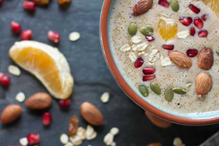 Dreamy Orange and Amaranth Porridge