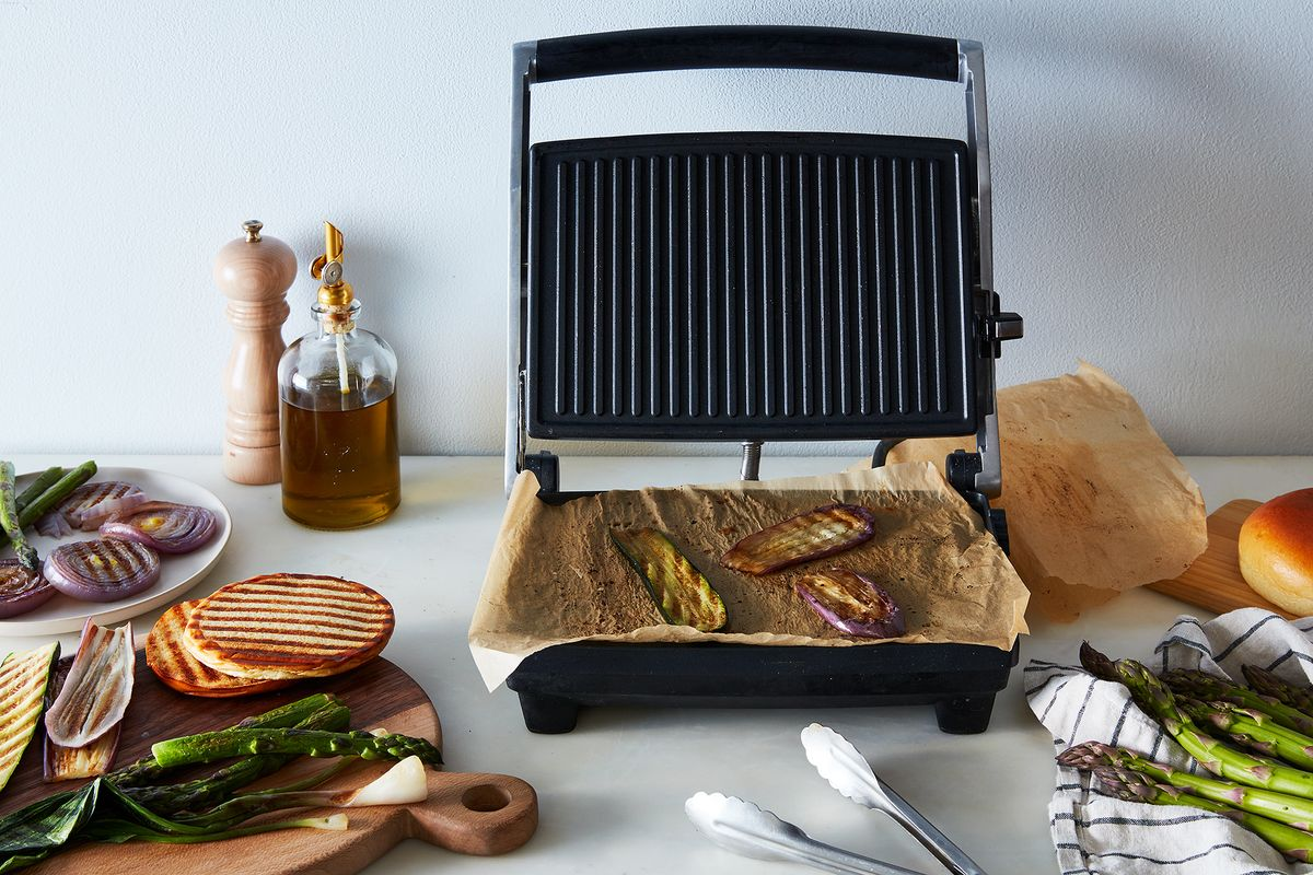 why a panini press is the best tool for indoor grilling. Black Bedroom Furniture Sets. Home Design Ideas