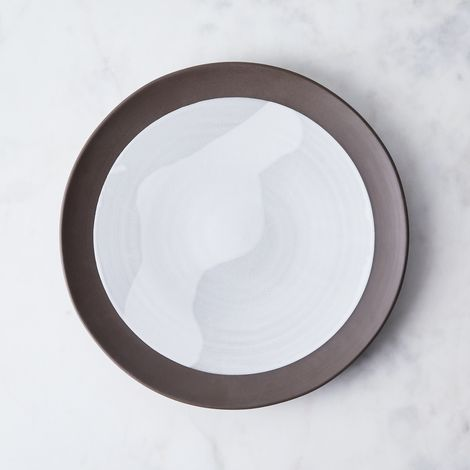 Food52 Raw Edge Round Serving Platter, by Jono Pandolfi