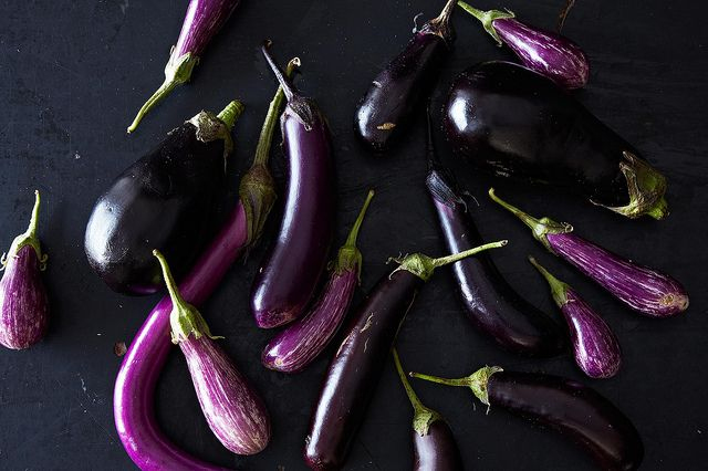 Eggplants are art—according to one artist.