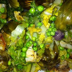 Ragout of Peas and Artichokes