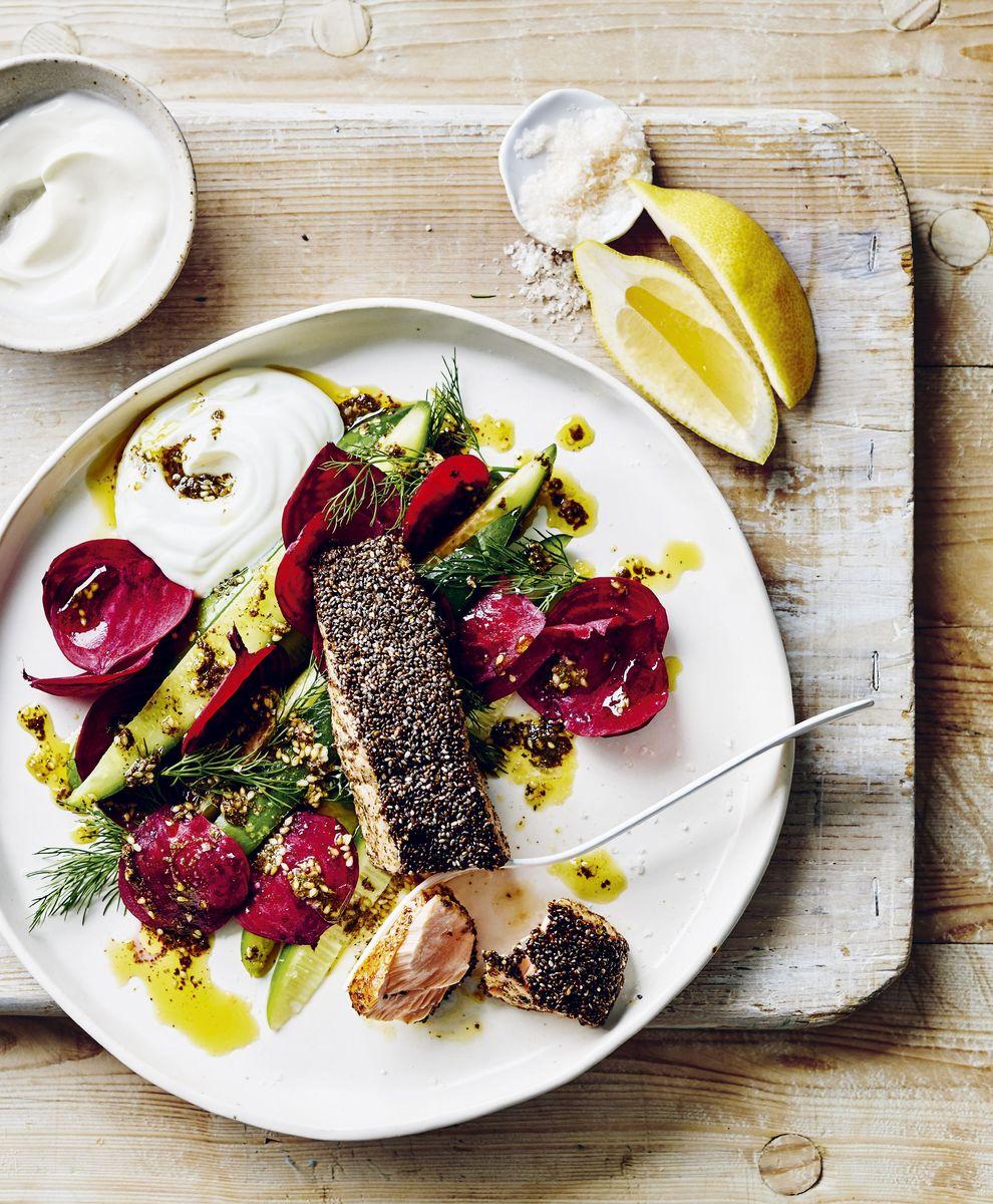 Las mejores recetas de Donna Hay's 'Weeklight'-From Salmon to Pizza 53