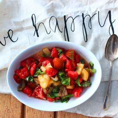 Heirloom Tomato Basil Salad
