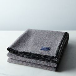Eco-Woven Wool Throw