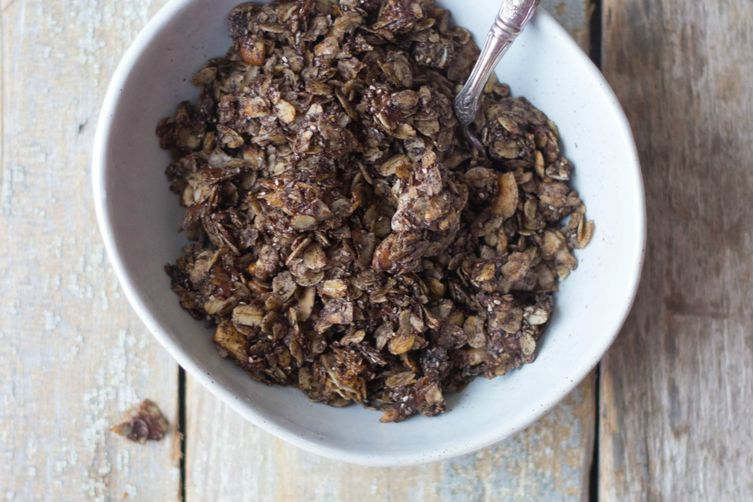 Coconut Dark Chocolate Granola