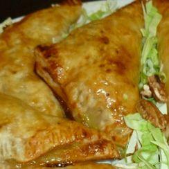 Honey Mustard Chicken Puff Sandwiches