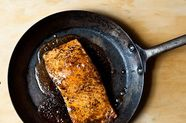 Maple-Cardamom Glazed Salmon