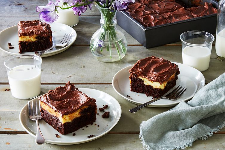 Susan Miglore's Fudgy Cream Cheese Chocolate Cake
