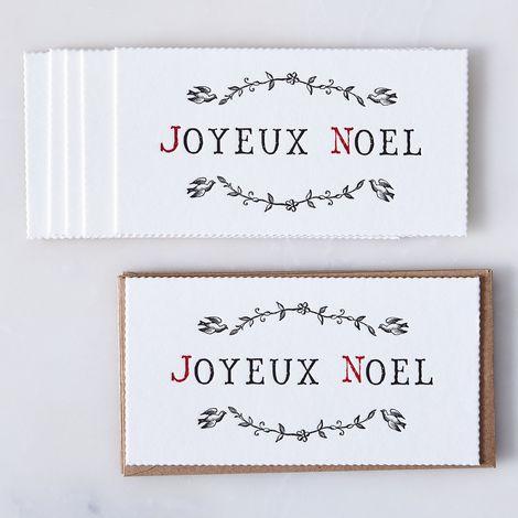 Joyeux Noel Cards (Set of 6)