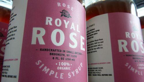 Royal Rose Syrups