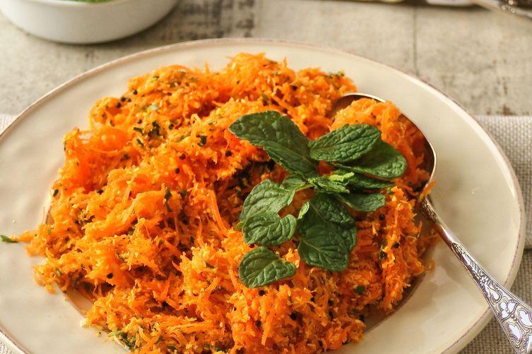 Carrot & Coriander Salad