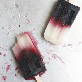 Blackberry Bramble Ice Pops