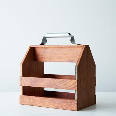 Wood Six Pack Holder