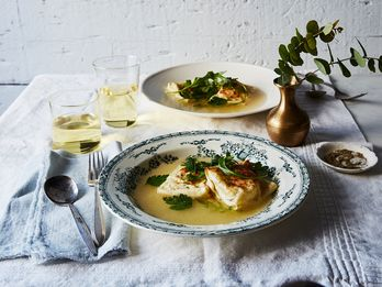 "Fact: Nothing Says ""I Love You"" Like Burrata Ravioli in Parmesan Broth"