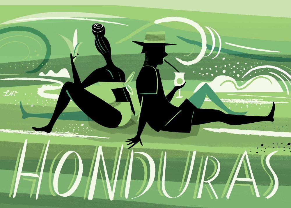 Honduras Postcard by Libby VanderPloeg