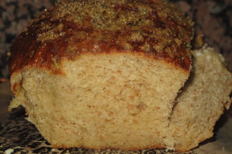 Sweet and Savoury Brioche, with a Sugared Mint Crust!