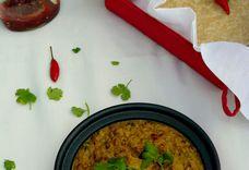 Adzuki Beans and Potatoes in Charmagaz Curry