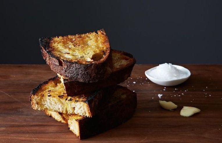 Grilled Garlic Toast