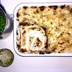 A very British Cottage Pie with Pickled Onions