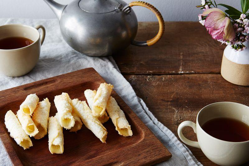 Coconut Tuiles Recipes — Dishmaps