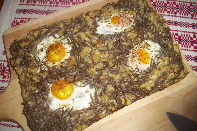 Noodles nest