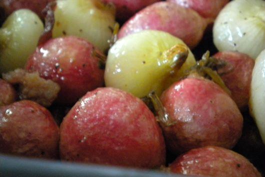 Radish Cippolini Roast